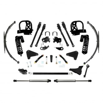 "Fabtech® - 8"" x 6""-8"" 4 Link Front and Rear Suspension Lift Kit"