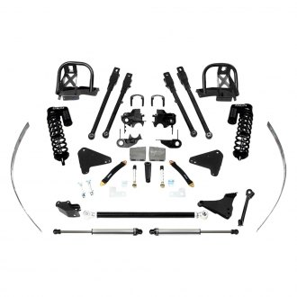 "Fabtech® - 8"" x 8"" 4 Link Front and Rear Suspension Lift Kit"