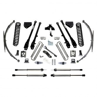 "Fabtech® - 10"" x 10"" 4 Link Front and Rear Suspension Lift Kit"