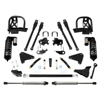 "Fabtech® - 6"" x 0"" 4 Link Front and Rear Suspension Lift Kit"