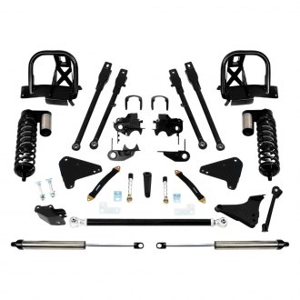 "Fabtech® - 6"" x 6"" 4 Link Front and Rear Suspension Lift Kit"