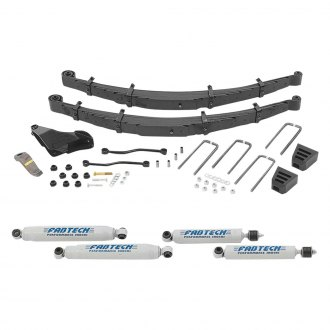 "Fabtech® - 8"" x 6.5"" Performance Front and Rear Suspension Lift Kit"