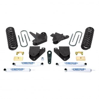 "Fabtech® - 4"" x 1"" Basic Front and Rear Suspension Lift Kit"