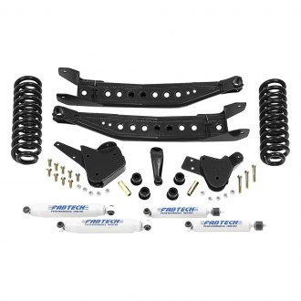 "Fabtech® - 4"" x 1"" Performance Front and Rear Suspension Lift Kit"