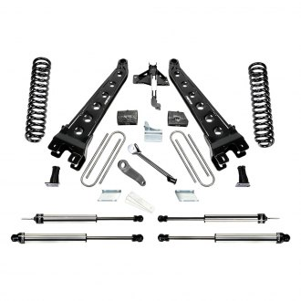 "Fabtech® - 6"" x 6"" Radius Arm Front and Rear Suspension Lift Kit"