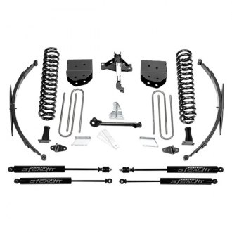 "Fabtech® - 8"" x 8"" Basic Front and Rear Suspension Lift Kit"