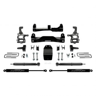 "Fabtech® - 4"" x 2.25"" Basic Front and Rear Suspension Lift Kit"