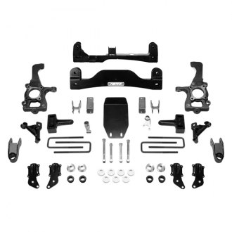 "Fabtech® - 4"" x 5"" Basic Front and Rear Suspension Lift Kit"