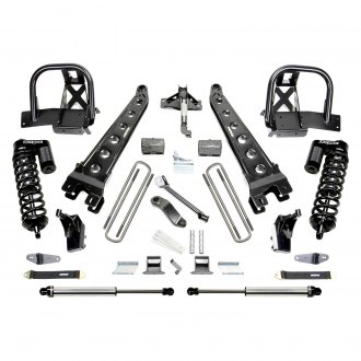 "Fabtech® - 4"" x 6"" Radius Arm Front and Rear Suspension Lift Kit"