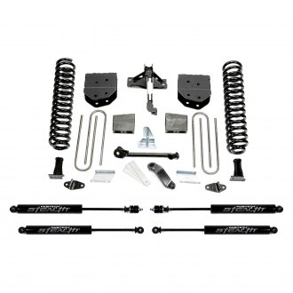 "Fabtech® - 4"" x 3"" Basic Front and Rear Suspension Lift Kit"