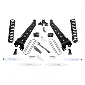 "Fabtech® - 4"" x 3"" Radius Arm Front and Rear Suspension Lift Kit"