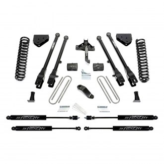"Fabtech® - 4"" x 3"" 4 Link Front and Rear Suspension Lift Kit"