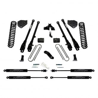 "Fabtech® - 4"" x 4"" 4 Link Front and Rear Suspension Lift Kit"