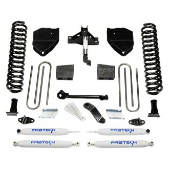"Fabtech® - 4"" x 4"" Basic Front and Rear Suspension Lift Kit"