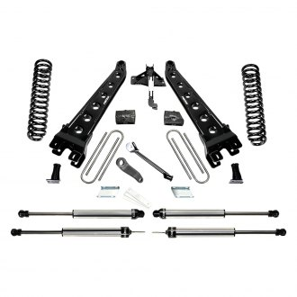 "Fabtech® - 4"" x 4"" Radius Arm Front and Rear Suspension Lift Kit"