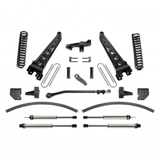 "Fabtech® - 8"" x 6"" Radius Arm Front and Rear Suspension Lift Kit"