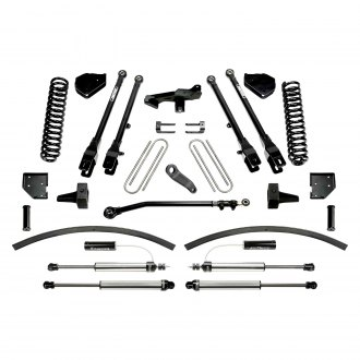 "Fabtech® - 8"" x 6"" 4 Link Front and Rear Suspension Lift Kit"