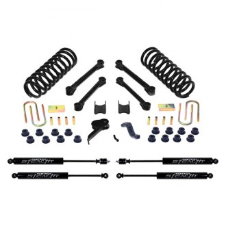 "Fabtech® - 4.5"" x 1"" Performance Front and Rear Suspension Lift Kit"