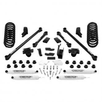 "Fabtech® - 5.5"" x 3.5"" Performance Front and Rear Suspension Lift Kit"