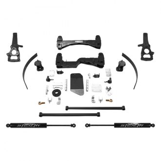 "Fabtech® - 6"" x 4"" Basic Front and Rear Suspension Lift Kit"
