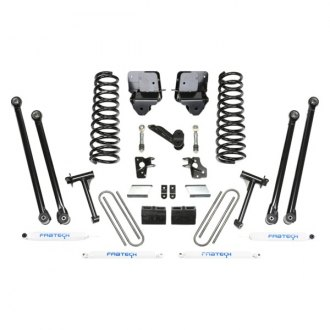 "Fabtech® - 6"" x 4"" Long Arm Front and Rear Suspension Lift Kit"
