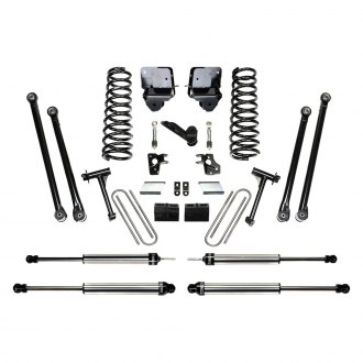 "Fabtech® - 6"" x 4"" Front and Rear Long-Travel Suspension Lift Kit"