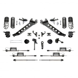 "Fabtech® - 7"" x 4"" Radius Arm Front and Rear Suspension Lift Kit"