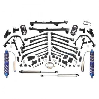 "Fabtech® - 6"" x 6"" Front and Rear Long-Travel Suspension Lift Kit"