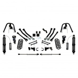 "Fabtech® - 5"" x 5"" Short Arm Front and Rear Suspension Lift Kit"