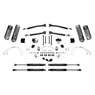 "Fabtech® - 3"" x 3"" Trail Front and Rear Long-Travel Suspension Lift Kit"