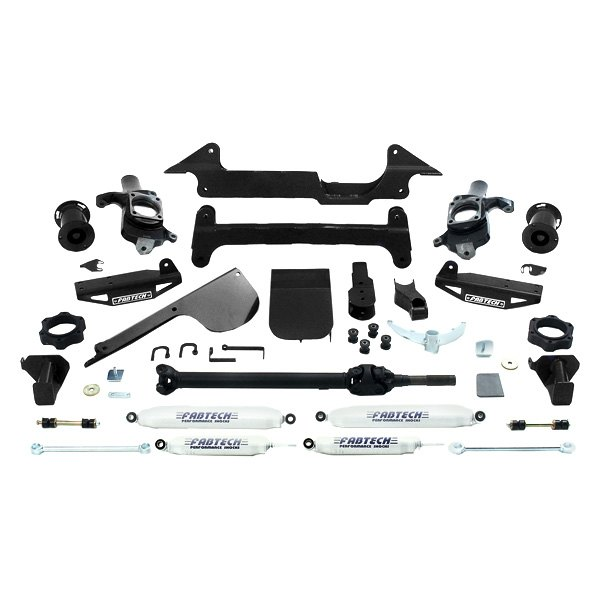Fabtech Hummer H2 2005 6 Performance Front And Rear Suspension