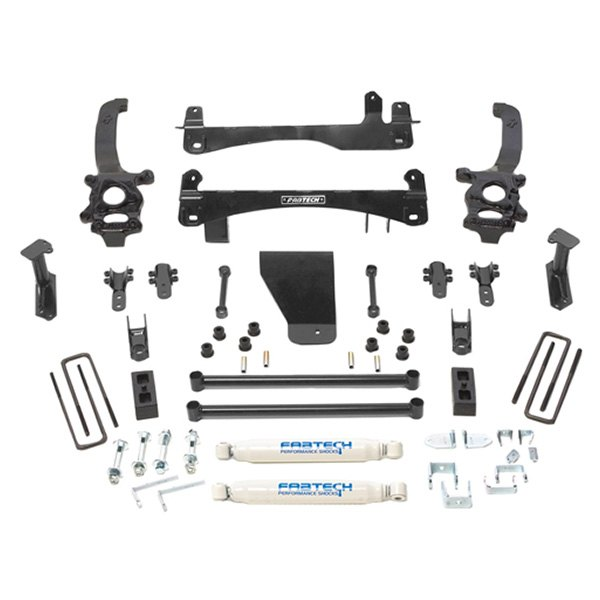 Fabtech Lift Kits >> Fabtech 6 X 4 Basic Front And Rear Suspension Lift Kit