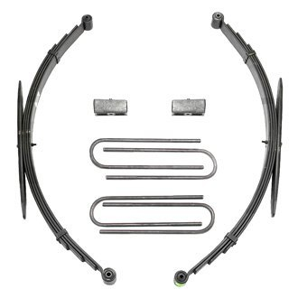 Fabtech® - Leaf Spring and Blocks Lift Kit