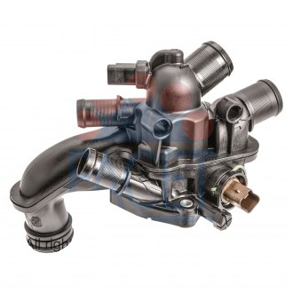 Facet® - Engine Coolant Thermostat and Housing Assembly with Housing and Gasket