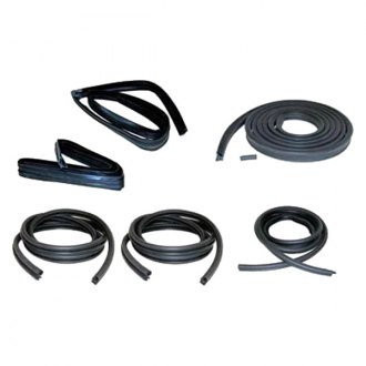 Fairchild® - Driver and Passenger Side Window Channel/Door Seal Kit