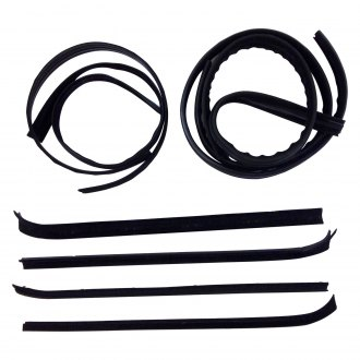 Fairchild® - Driver and Passenger Side Inner and Outer Belt Weatherstrip/Window Channel Kit