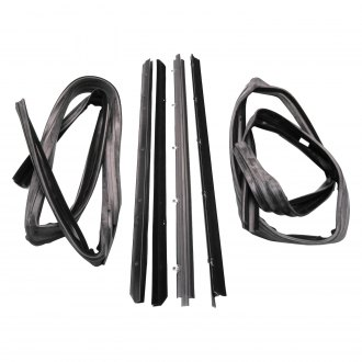 Fairchild® - Driver and Passenger Side Belt Weatherstrip/Window Channel Kit