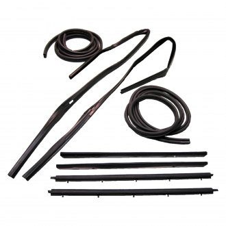Fairchild® - Driver and Passenger Side Inner and Outer Belt Weatherstrip/Window Channel/Door Seal Kit