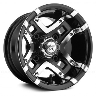 FAIRWAY ALLOYS® - PRESTIGE ATV/UTV Gloss Black with Machined Face