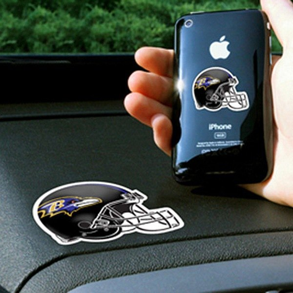FanMats® - Universal Cell Phone Grips (Sports, NFL, Baltimore Ravens)
