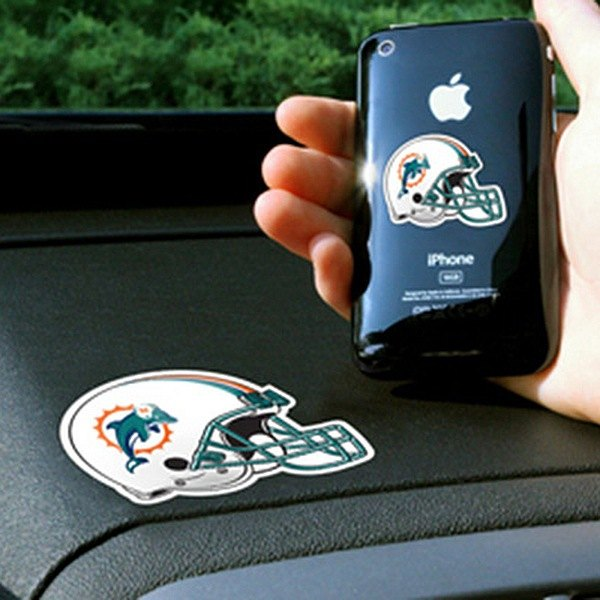 FanMats® - Universal Cell Phone Grips (Sports, NFL, Miami Dolphins)