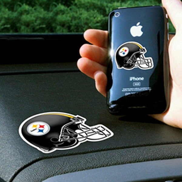 FanMats® - Universal Cell Phone Grips (Sports, NFL, Pittsburgh Steelers)