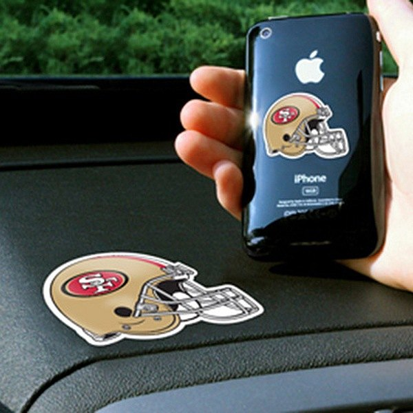 FanMats® - Universal Cell Phone Grips (Sports, NFL, San Francisco 49ers)