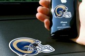 FanMats® - Universal Cell Phone Grips (Sports, NFL, St Louis Rams)