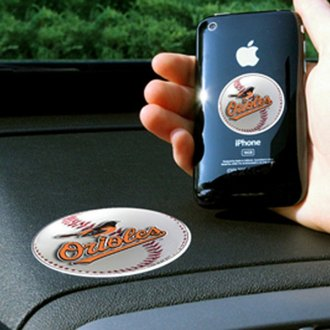 FanMats® - Universal Cell Phone Grips (Sports, MLB, Baltimore Orioles)