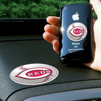 FanMats® - Universal Cell Phone Grips (Sports, MLB, Cincinnati Reds)
