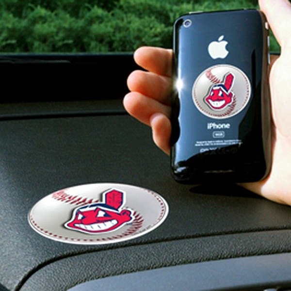FanMats® - Universal Cell Phone Grips (Sports, MLB, Cleveland Indians)