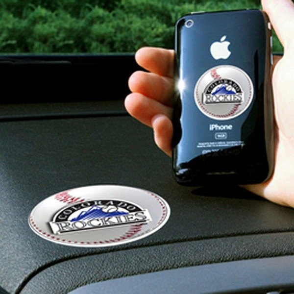FanMats® - Universal Cell Phone Grips (Sports, MLB, Colorado Rockies)