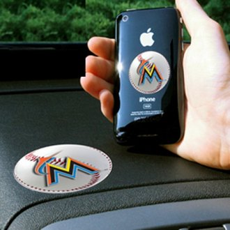 FanMats® - Universal Cell Phone Grips (Sports, MLB, Miami Marlins)