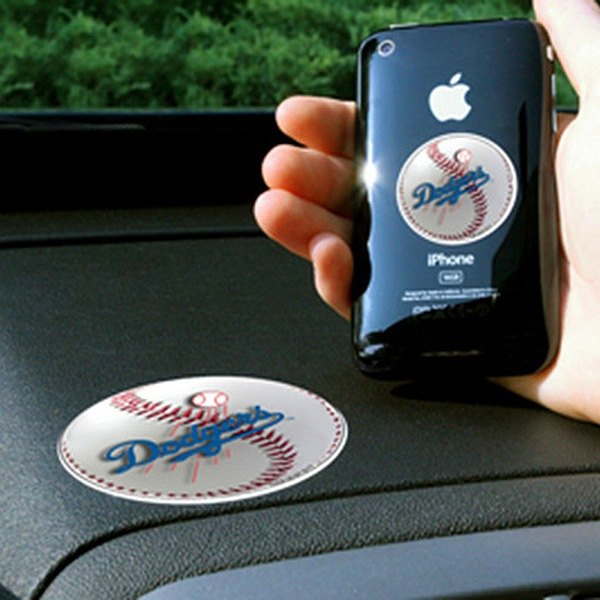 FanMats® - Universal Cell Phone Grips (Sports, MLB, Los Angeles Dodgers)
